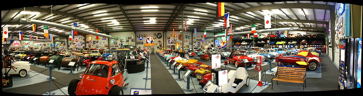Virtual Tour Of The Bruce Weiner Microcar Museum