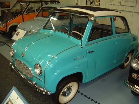 1958 Goggomobil T 250 Sedan Sunroof
